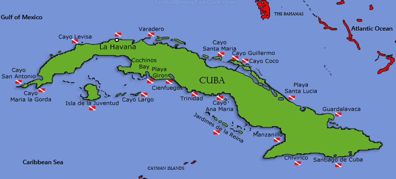 Cuban Map