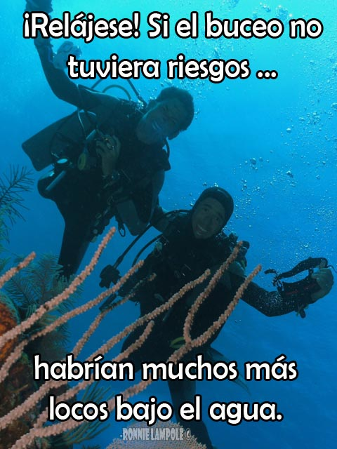 Frases del buceo