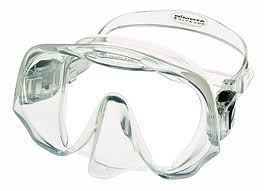 Diving masks_single_lens frameless
