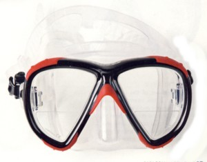 Diving masks_double_lens